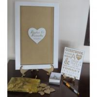 Heart Guest Book Frame 2