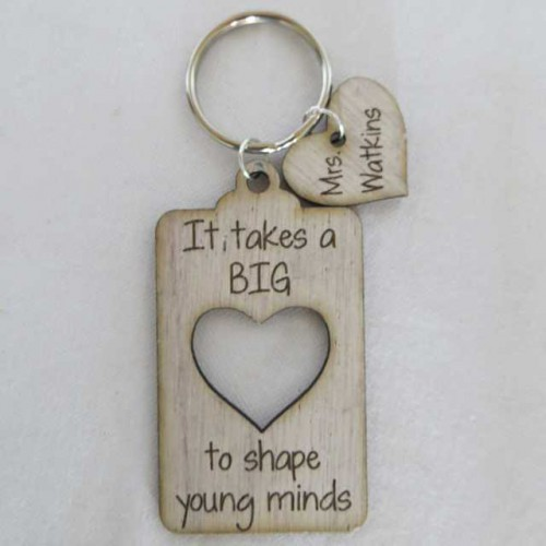 Big Heart Keyring