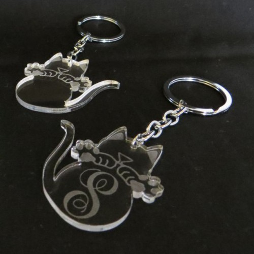 Cat Key Ring