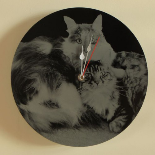 Photo Engraved Clock