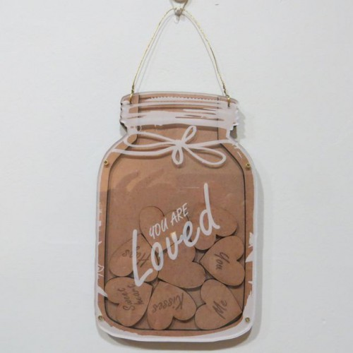 Loved Mason Jar