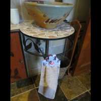 Dog Fabric Handtowels 3