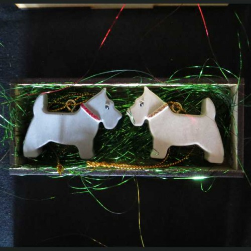 Resin Scottie Ornaments 1