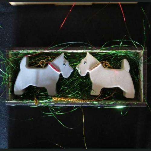 Resin Scottie Ornaments 1