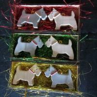 Resin Scottie Ornaments
