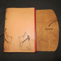 Leather Diary Cover 2
