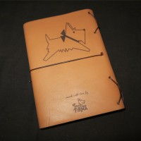 Leather Diary Cover Back