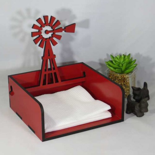 Windmill serviette 2