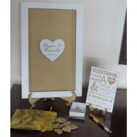 Heart Guest Book Frame 2