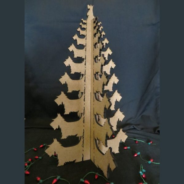 4 Leaf Scottie Christmas Tree