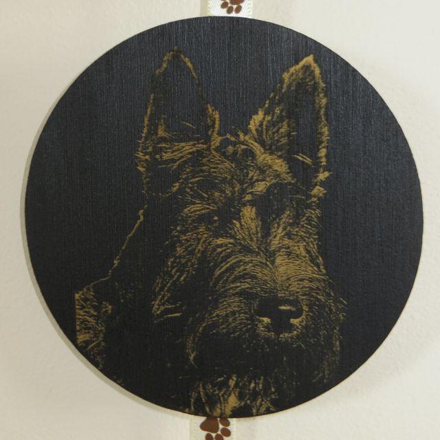 Wood Photo Engraving