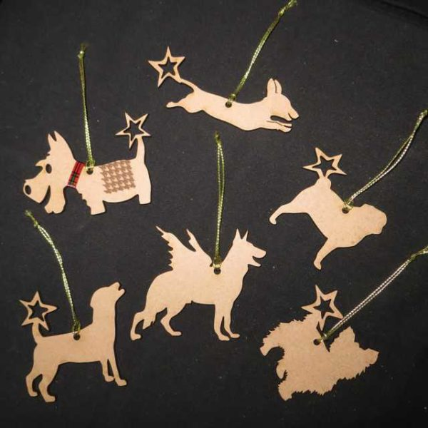 Star and Angel Pet Decorations