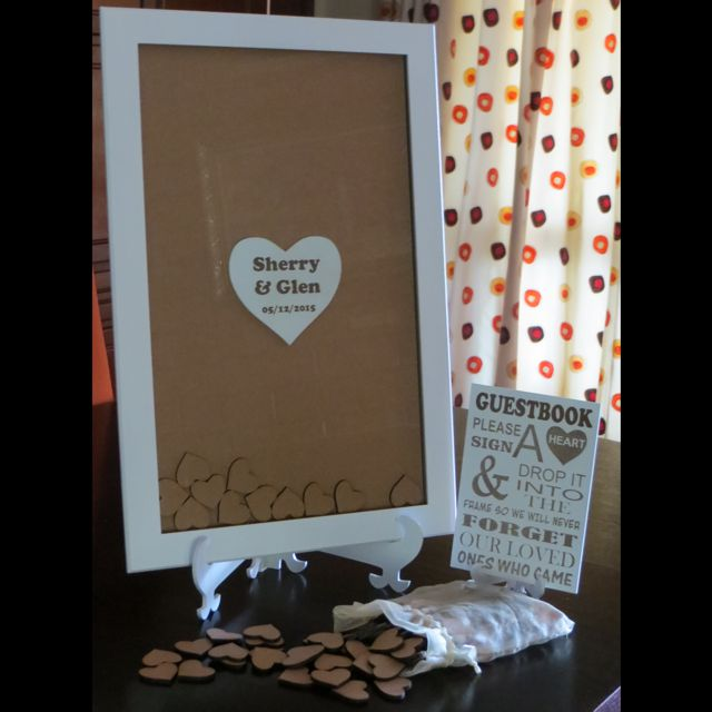 Wedding Guest Book Frame | Terrier Firma