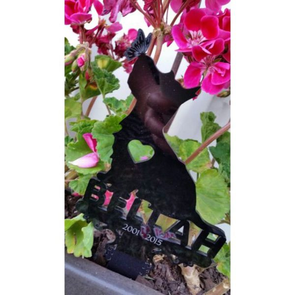 Perspex Breed and Name Marker