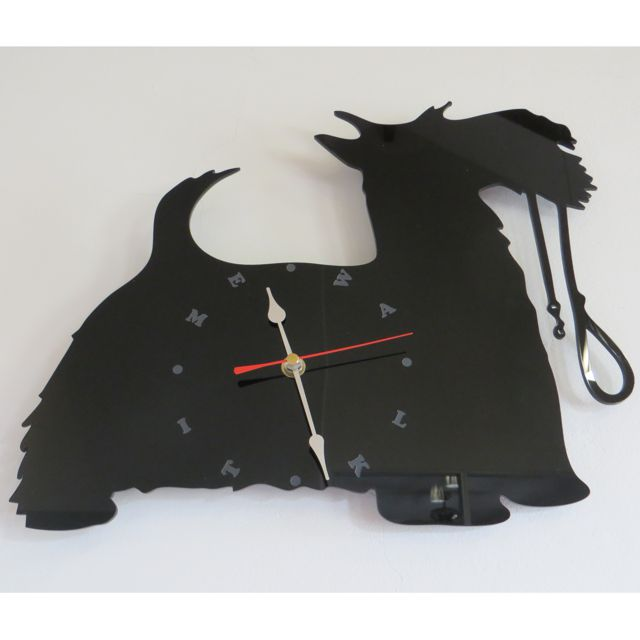 Walk Time Scottie Clock