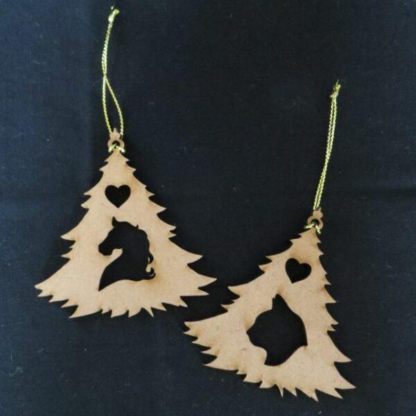 Pet Christmas Tree Decorations