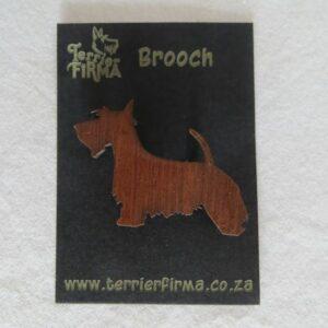 Scottie Brooch