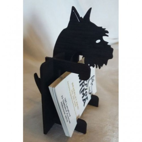 Scottie Business Card Holder