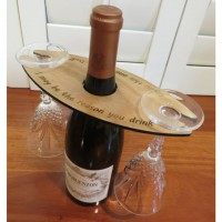 2 Glass Wine Butler