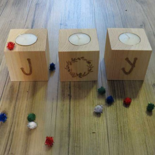 JOY Block Tealights