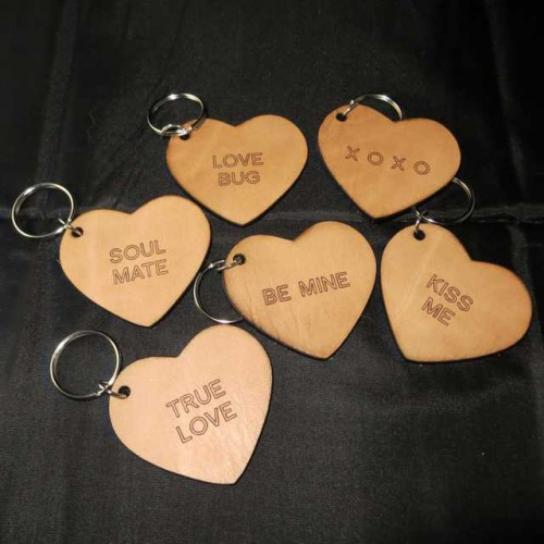 Sweet Heart Keyrings