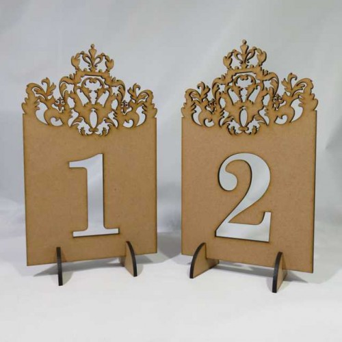 table numbers crown